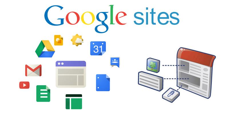 Преимущества создания сайта на базе Google sites